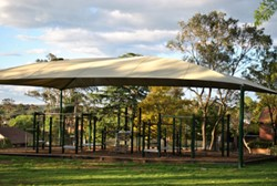 Shade cover, 3-6 site